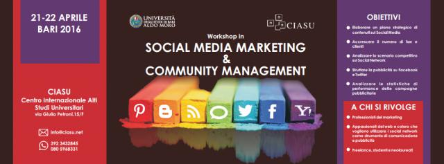 Workshop in Social Media Marketing