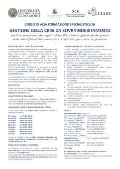Locandina corso PROGETTO rev. 3